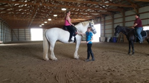 """In our recent """"Perfect Position"""" clinic we discussed the proper position of the rider in the saddle, ways to improve your position and the importance of having a proper position. Here we are discussing the position of the rider's leg."""