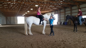 Taking lessons is a vital part of becoming a good horse person.